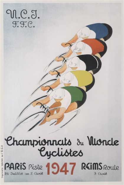 Cycling World Championships, Paris (1947)