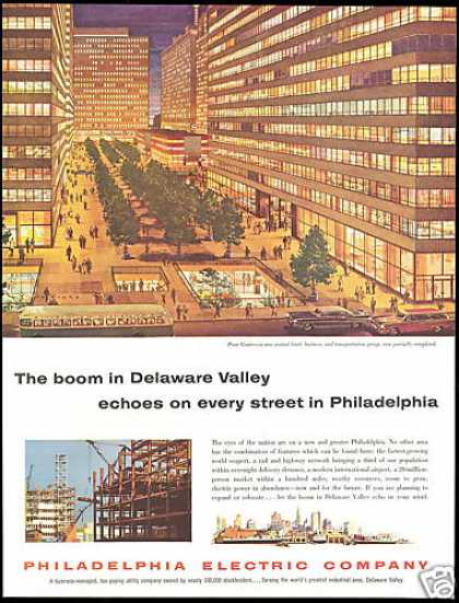 Philadelphia Electric Company Penn Center (1957)