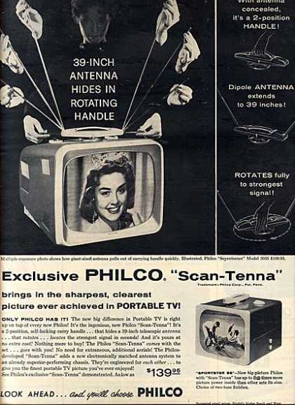 Philco's Scan-Tenna (1957)
