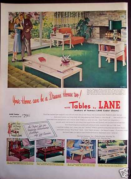 Original Tables By Lane Home Decor (1952)