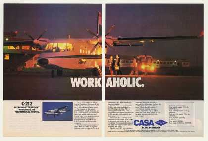 Casa C-212 Economy Transport Aircraft 2-Page (1986)