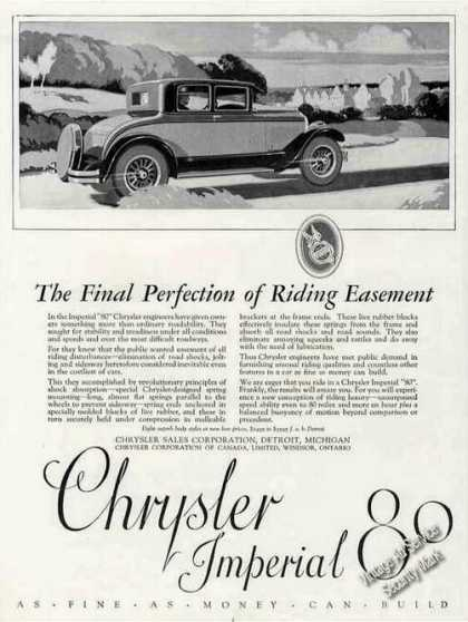 Chrysler Imperial 80 Nice Antique Car (1926)