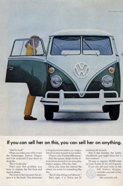 Vw Volkswagen Station Wagon Bus (1965)