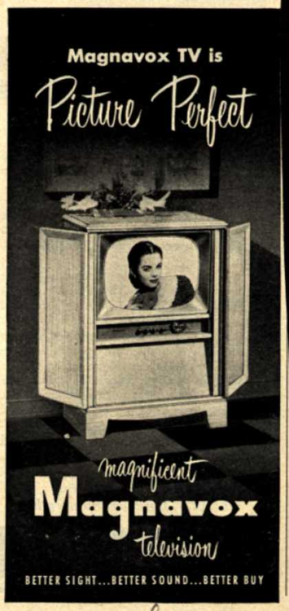 Magnavox Company's Television – Magnavox TV is Picture Perfect (1952)