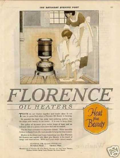 Florence Oil Heater Color (1920)