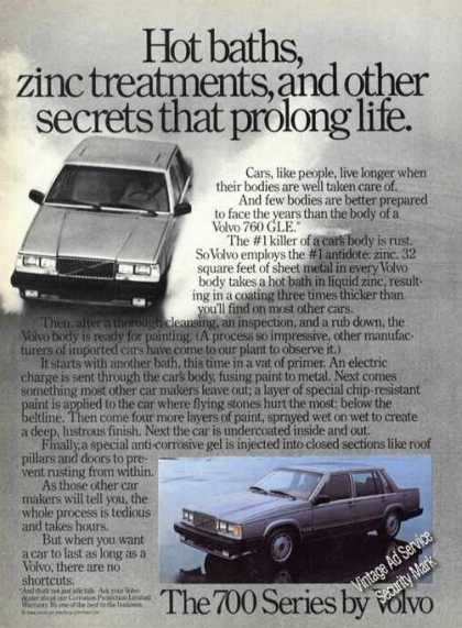 Volvo 760 Gle Car Advertising (1985)