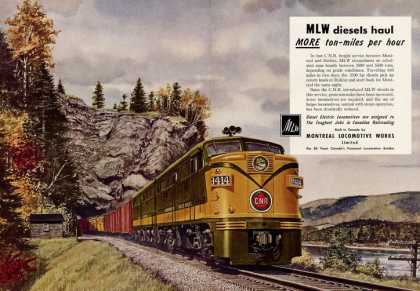 Montreal Locomotive Works Railroad H Fogg (1952)
