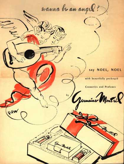 Germaine Monteil's Various – wanna be an angel? say Noel, Noel (1946)