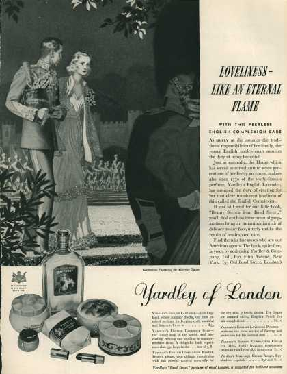 Yardley & Co., Ltd.'s Yardley's English Lavender – Loveliness Like An Eternal Flame (1938)