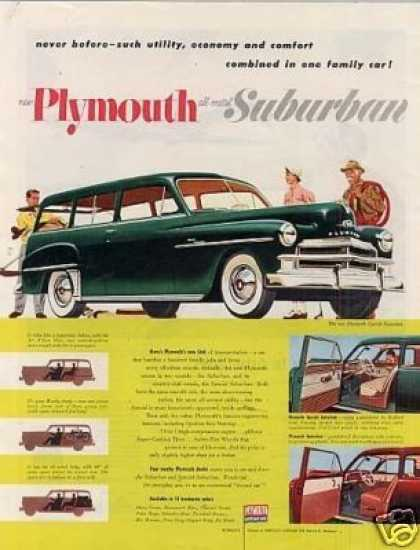 Plymouth Suburban Car (1950)