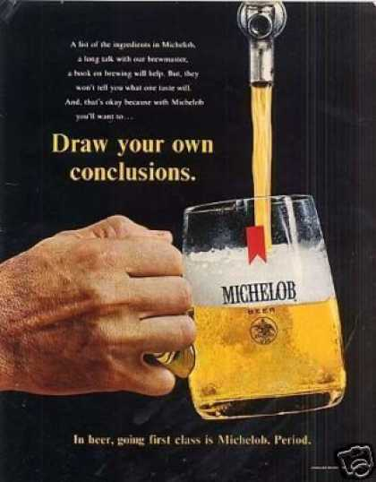 Michelob Beer (1968)