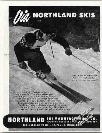 Northland Skis St Paul Mn Photo (1947)
