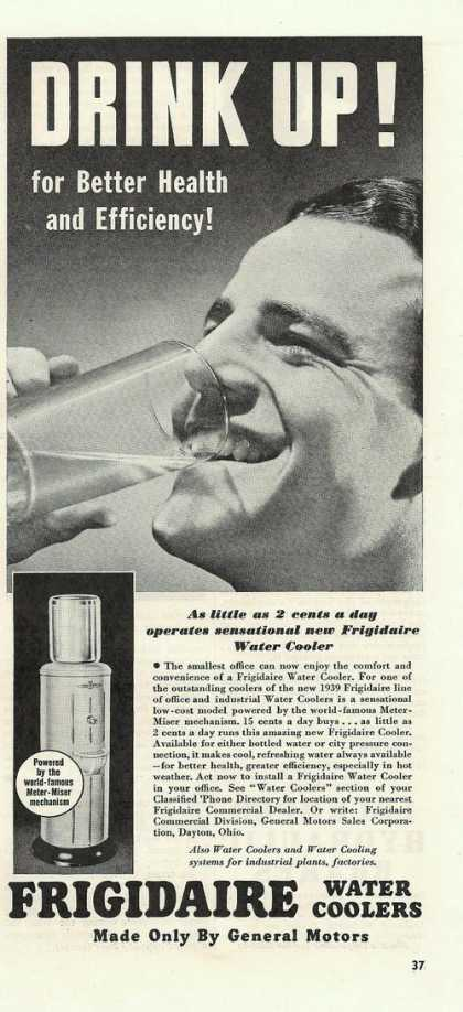 Frigidaire Water Coolers (1939)