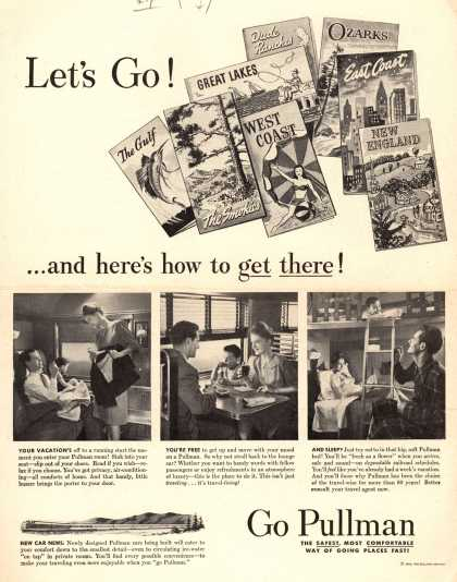 Pullman Company – Let's Go! ...and here's how to get there (1947)