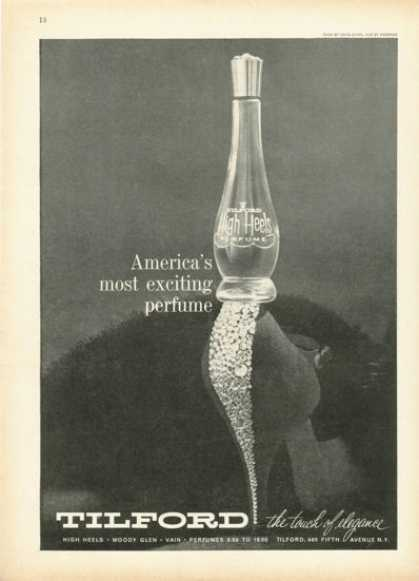 Tilford High Heels Perfume Bottle (1959)