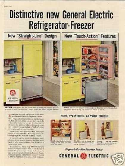 General Electric Refrigerator-fr (1957)