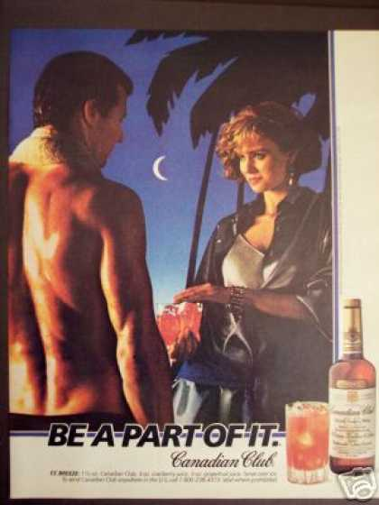 Cc Breeze Drink Recipe Canadian Club Whisky (1986)