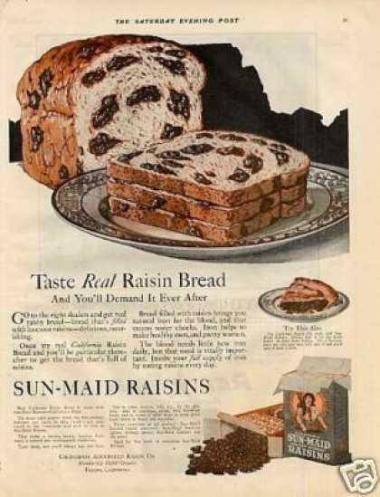 Sun-maid Raisins Color (1921)