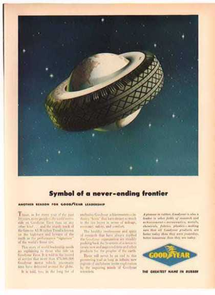 Goodyear Tire – Symbol of a never-ending frontier (1949)