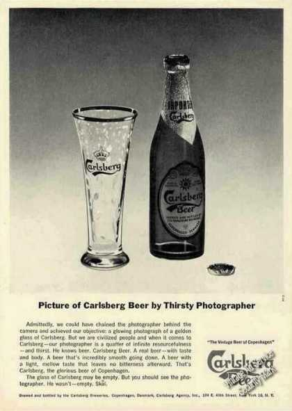 Picture of Carlsberg Beer Thirsty Photographer (1962)