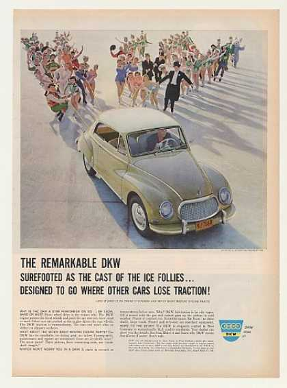 Shipstads & Johnson Ice Follies Cast DKW Car (1960)