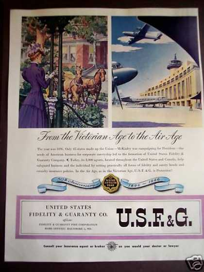 U.s. Fidelity & Guaranty Victorian Era To '46 (1946)
