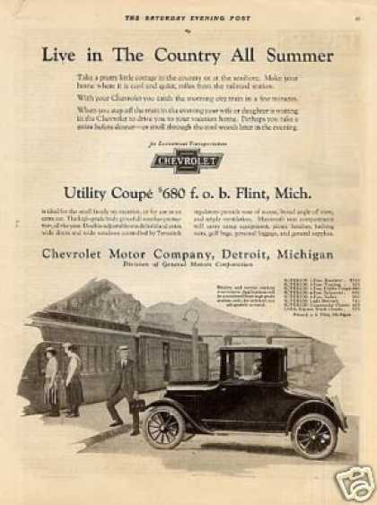 Chevrolet Utility Coupe (1923)