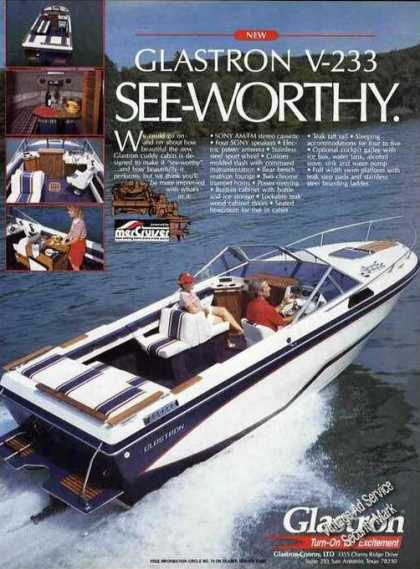 Glastron V-233 Photos See-worthy Boats (1985)