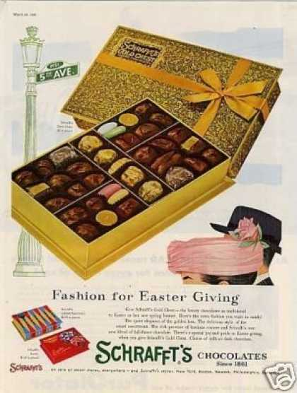 Schrafft&#8217;s Chocolate Candy (1956)