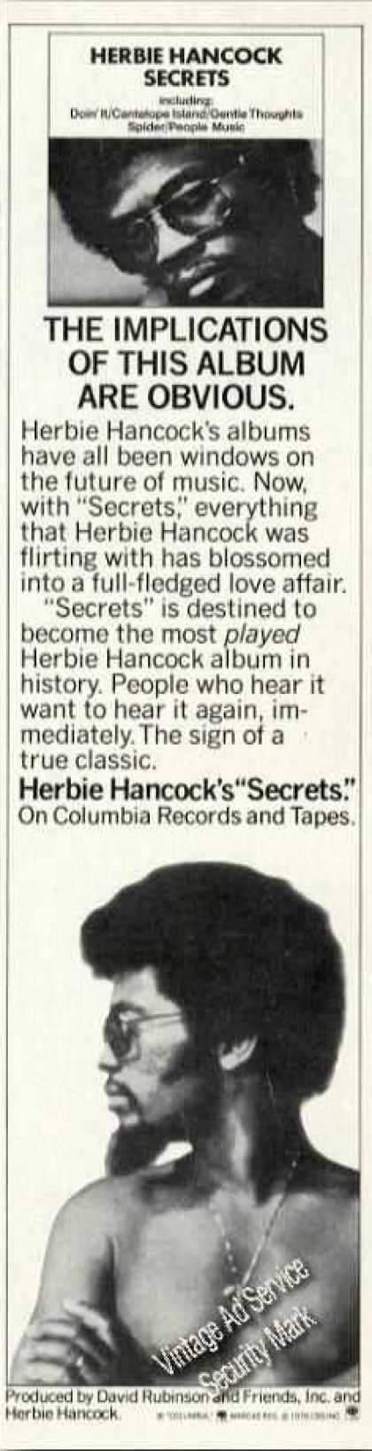 Herbie Hancock Photo Album Promo Music (1976)