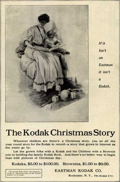 Kodak &#8211; The Kodak Christmas Story (1907)