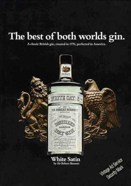 "White Satin Gin ""The Best of Both Worlds"" Nice (1968)"
