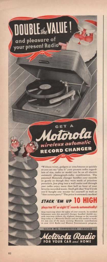 Motorola Wireless Record Changer (1941)