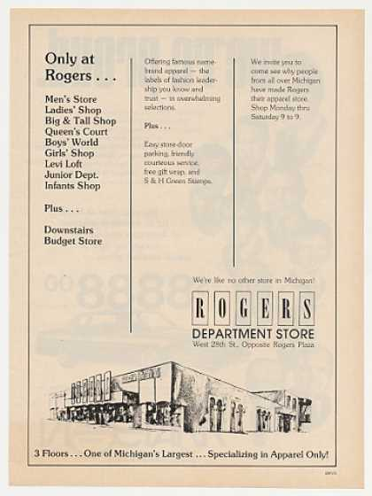 Rogers Department Store Michigan (1977)