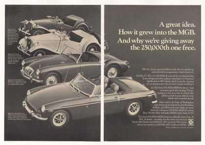 MGB MG-TC MG-TD MGA Great Idea (1971)