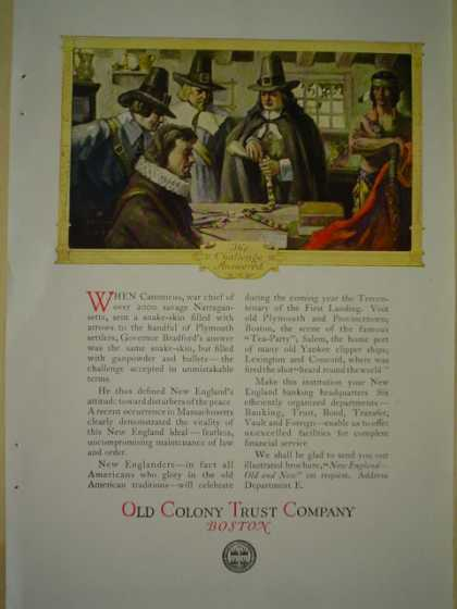 Old Colony trust Co Boston (1920)