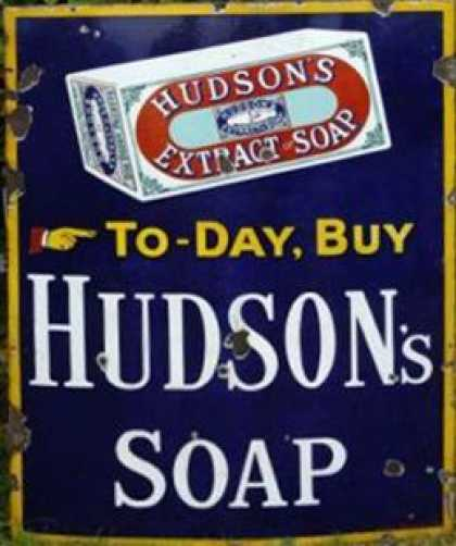 Hudson's Estract of Soap