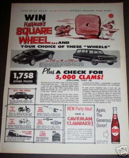Chevrolet Corvette Impala Dr Pepper Contest (1963)