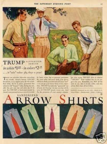 Arrow Shirts Color (1930)