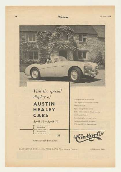 Austin Healey Car Mart British (1955)