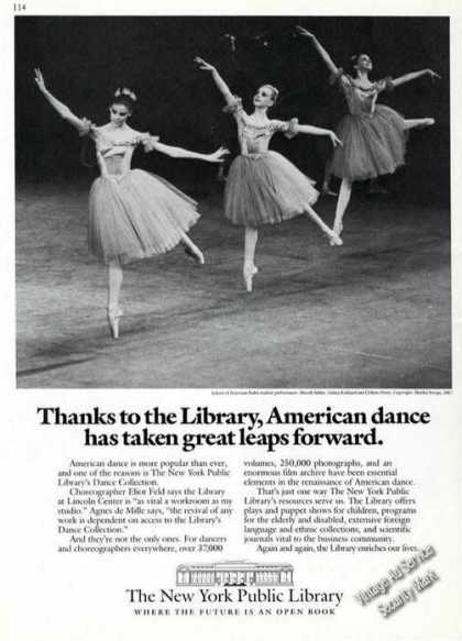 School of American Ballet 1967 Photo Promo (1988)