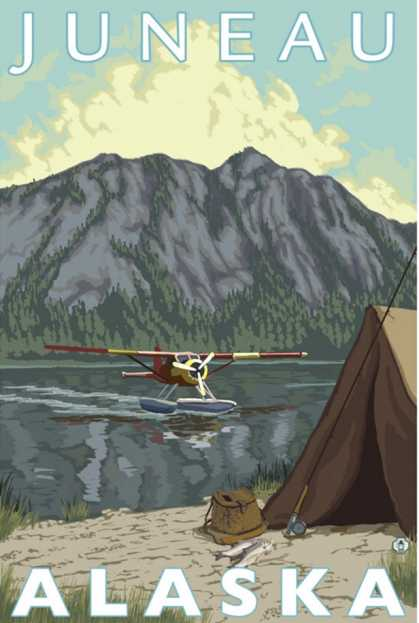 Bush Plane & Fishing, Juneau, Alaska