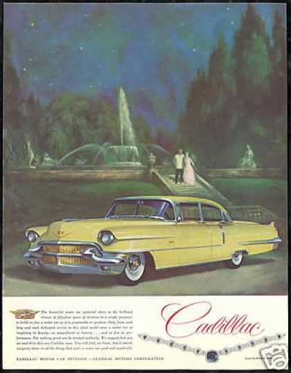 Yellow 4 Dr Cadillac Car Harry Winston Jewels (1956)