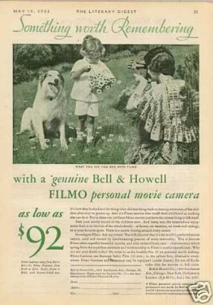 Bell & Howell Filmo Movie Camera (1931)