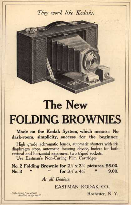Kodak's Folding Brownie cameras – The New Folding Brownies (1905)