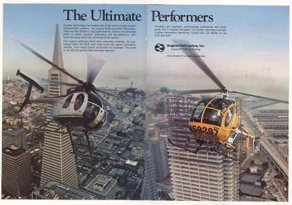 Hughes 500D 300C Helicopters Photo (1981)