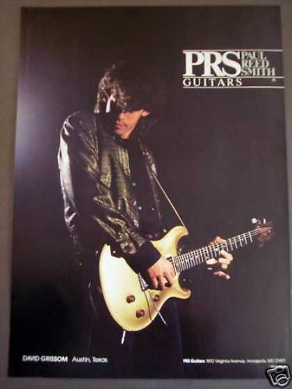 Paul Reed Smith Guitars David Grissom Music (1992)