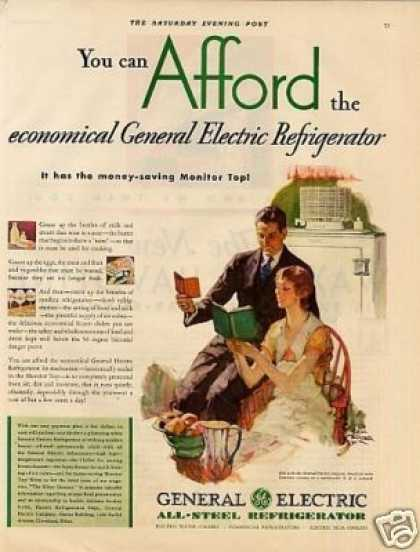 General Electric Refrigerator (1930)