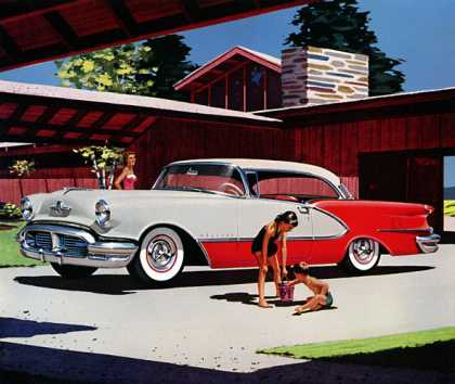 Oldsmobile 98 Deluxe Holiday Coupe (1956)
