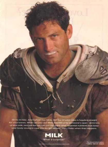 Steve Young – GOT MILK? (1995)